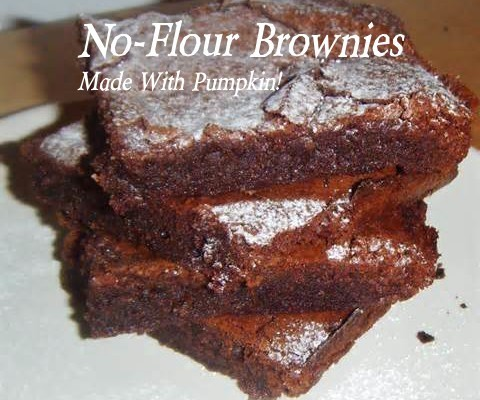 No flour clean eating chocolate cake made with pumpkin