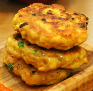 Clean Eating Curried Chicken Patties